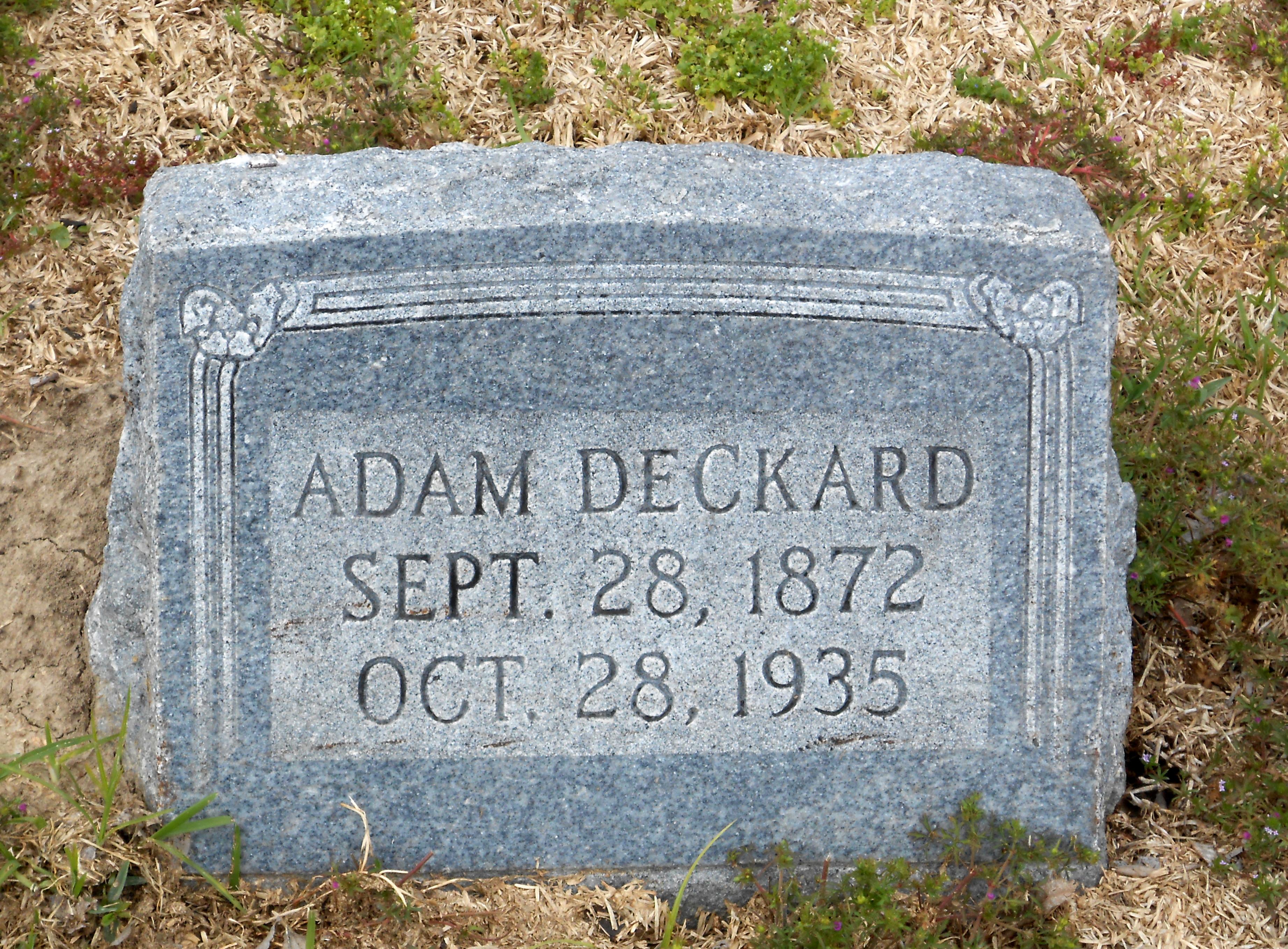 Adam Deckard