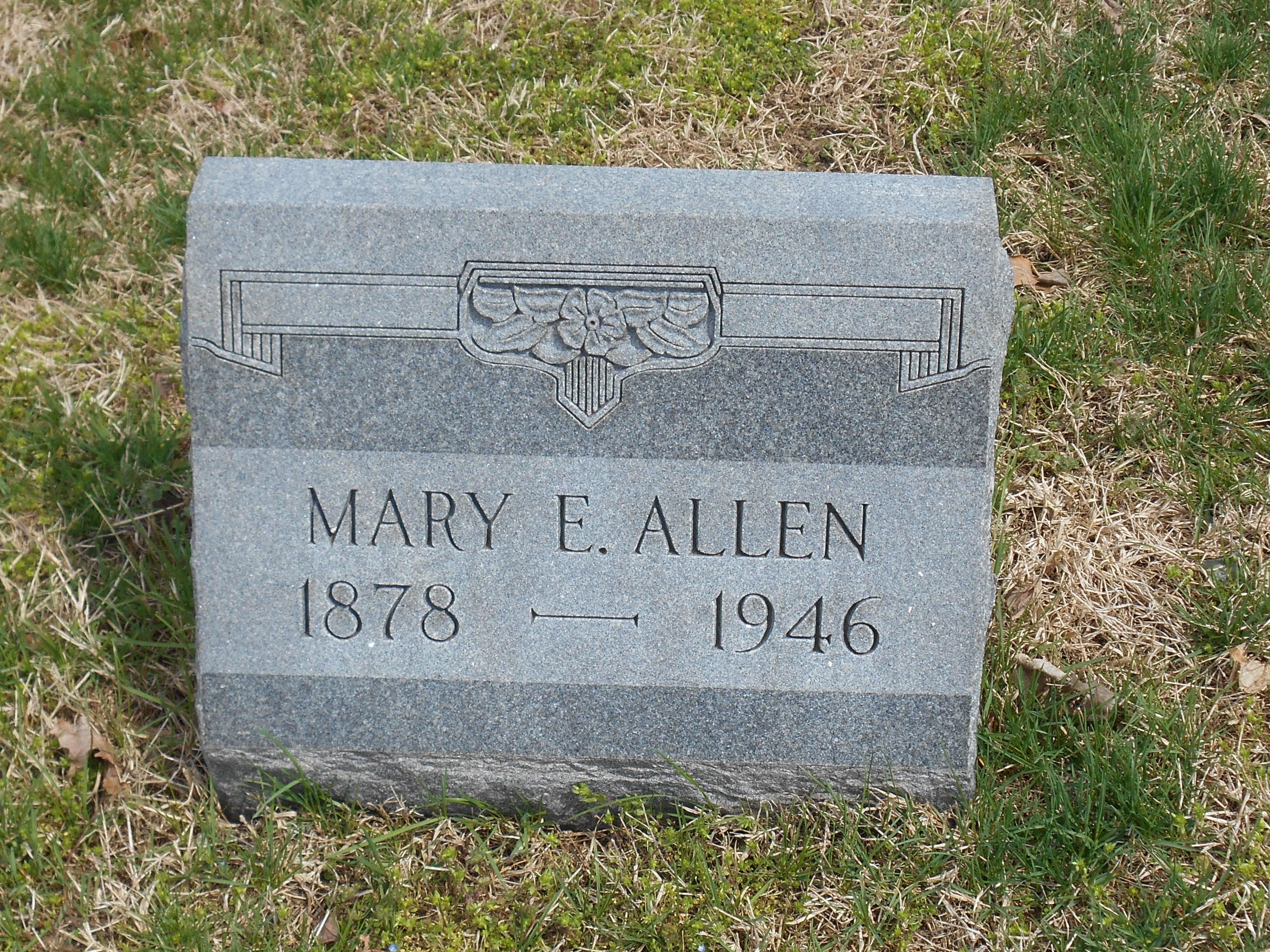 Mary Elizabeth <i>Hartley</i> Allen