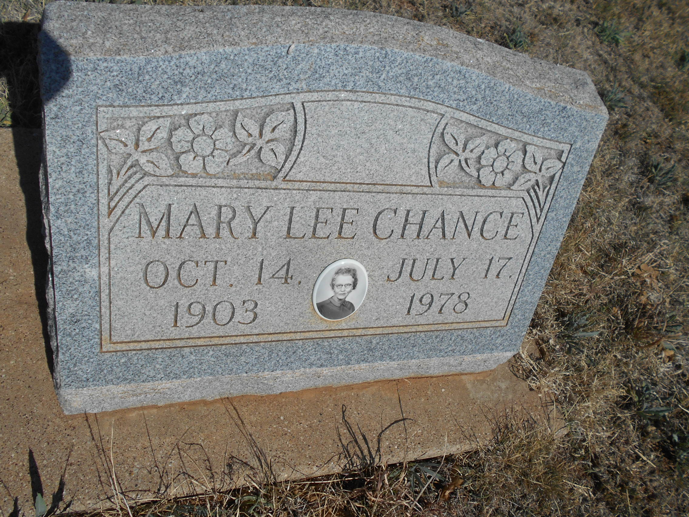 Mary Lee <i>Coffey</i> Chance