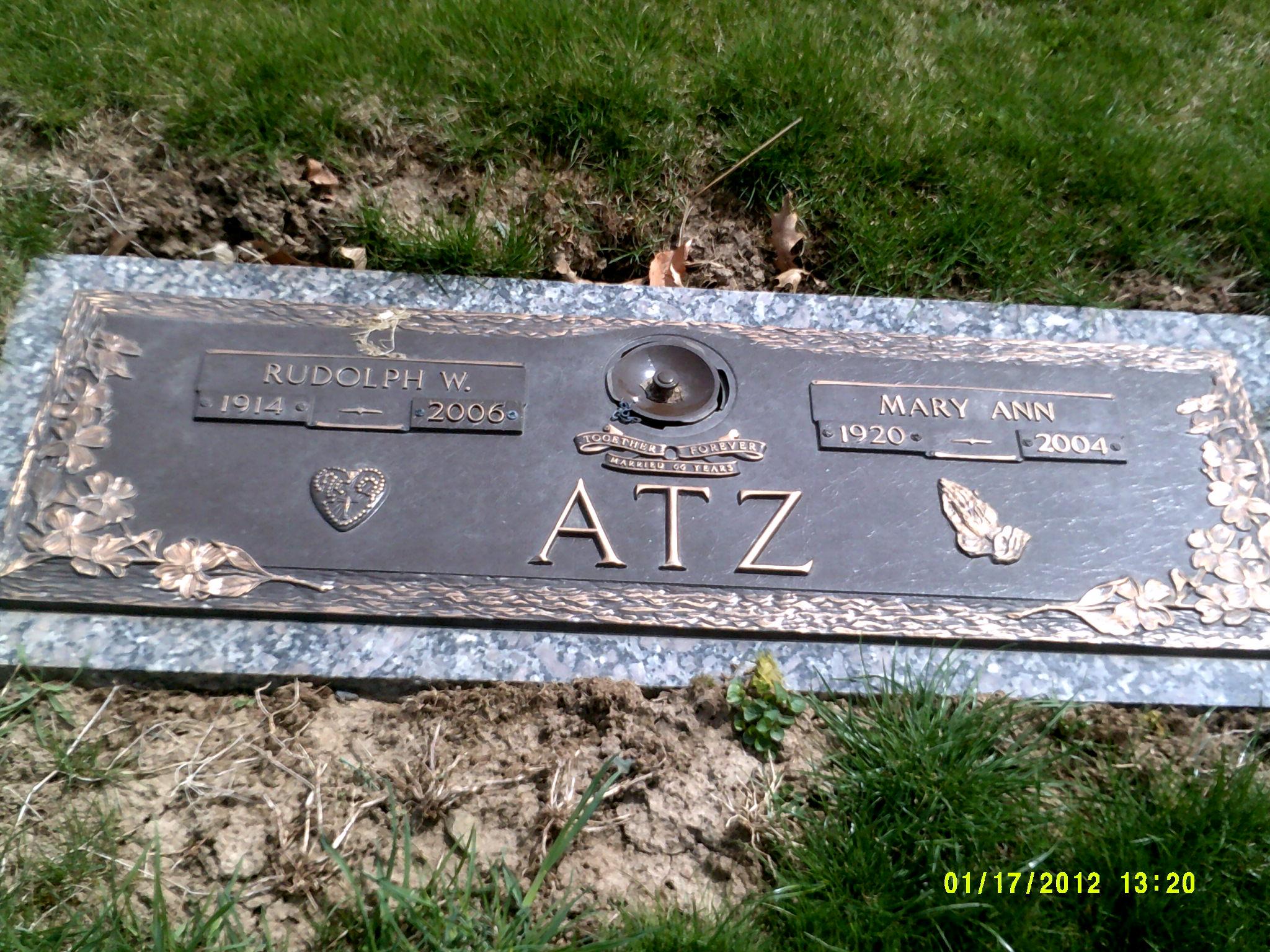 Mary Zolensky Atz (1920-2004) - Find A Grave Memorial