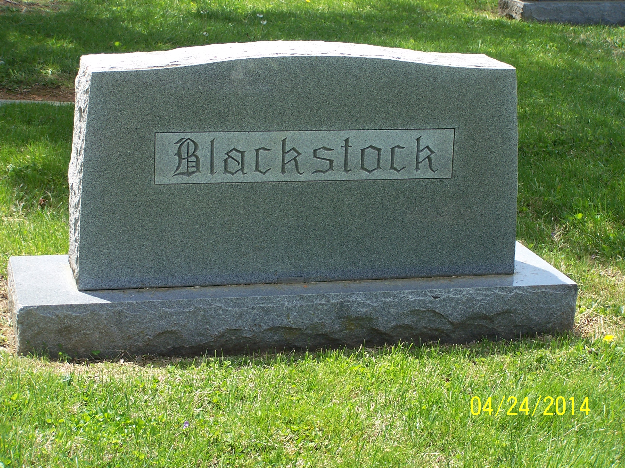 Don Eugene Blackstock