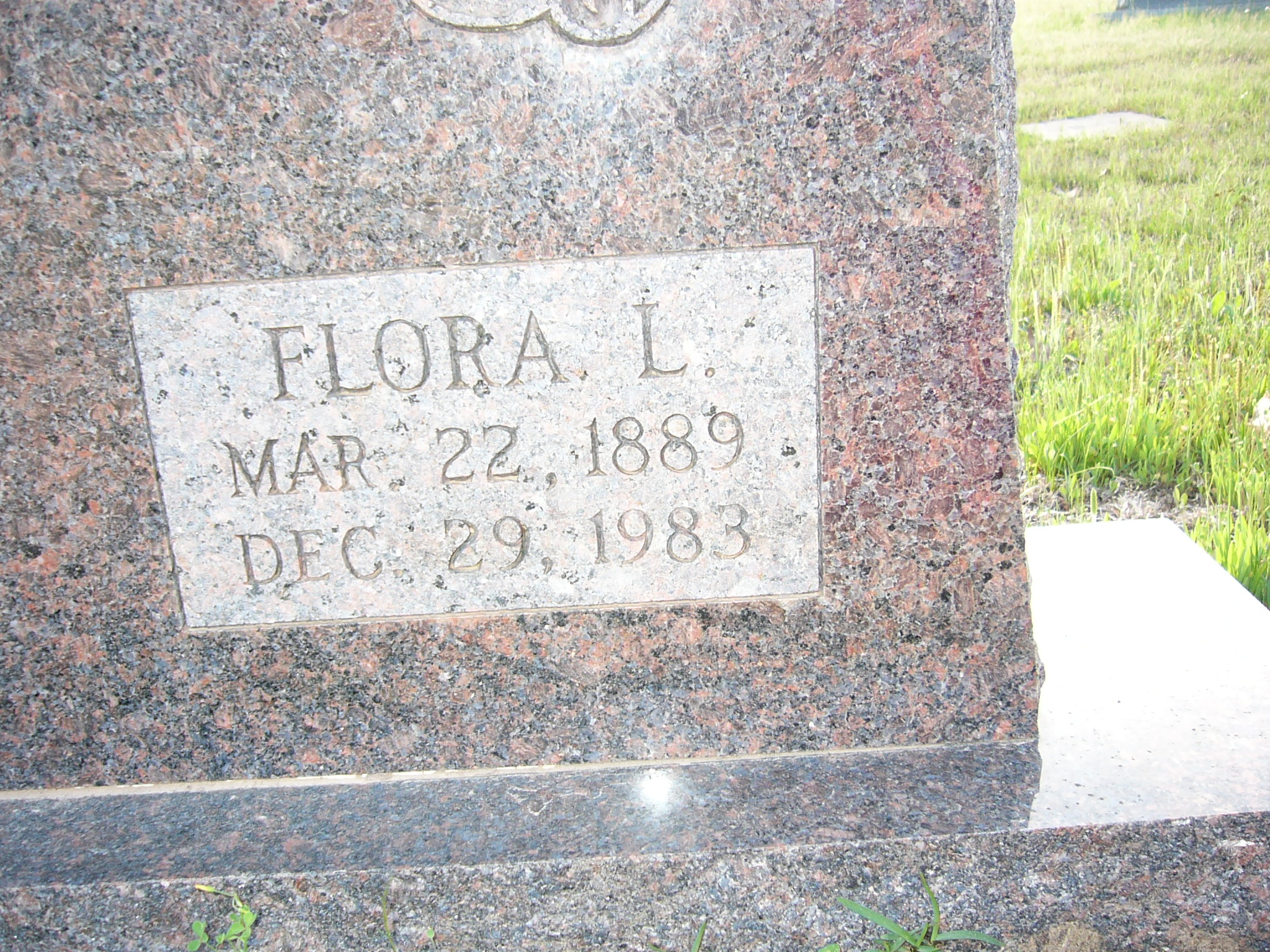 Flora Lucy <i>Colley</i> Belote