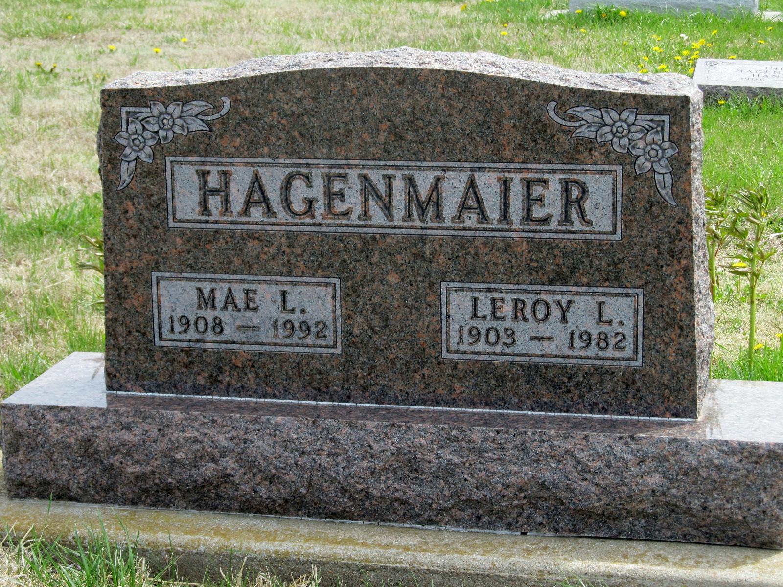 Mae Louella <i>Dudley</i> Hagenmaier