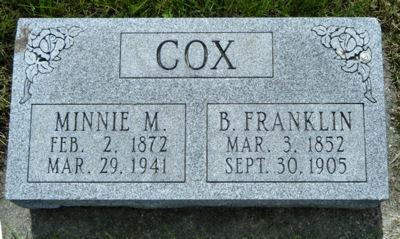 Minnie M. Cox