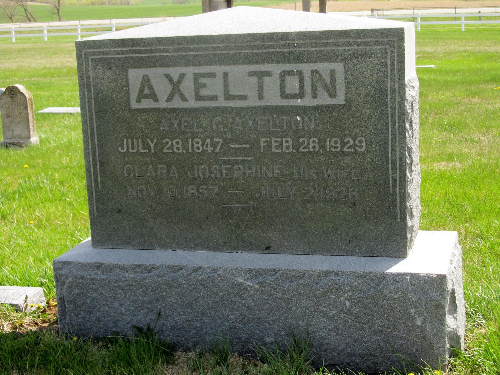 Axel Gustave Axelton