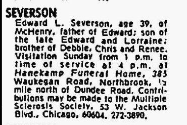 Edward Louis Severson, Jr