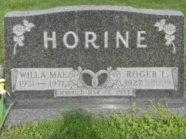 Willa Mae <i>Stroud</i> Horine