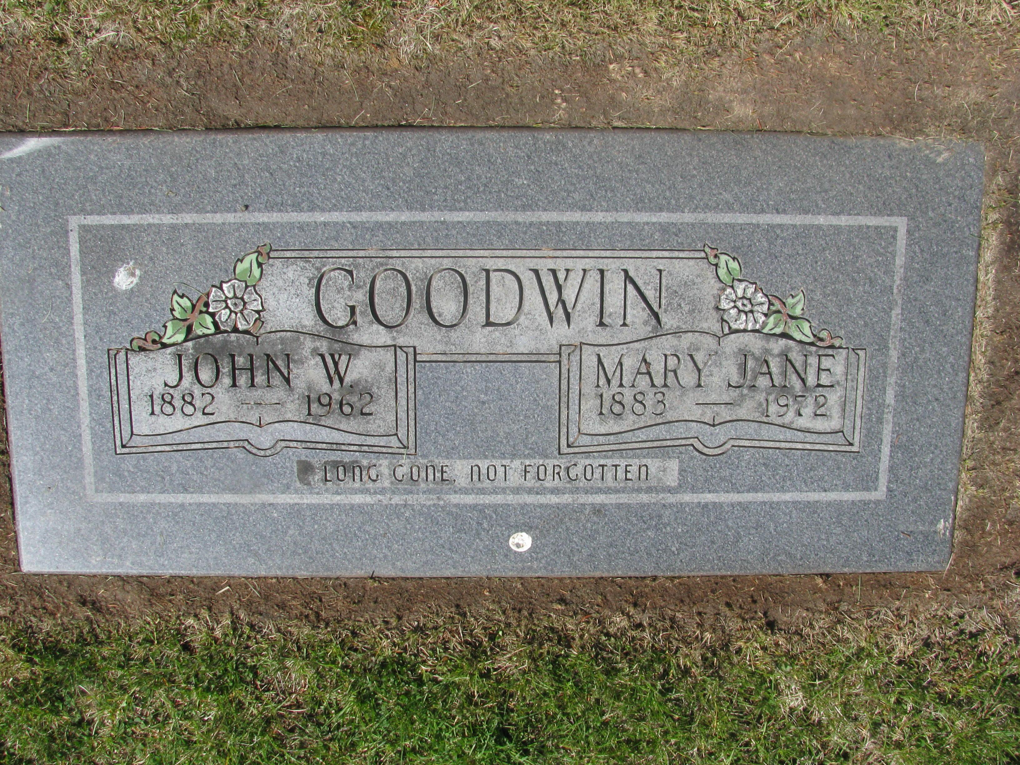 Mary Jane Mollie <i>Scobee</i> Goodwin
