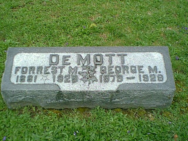 George M DeMott