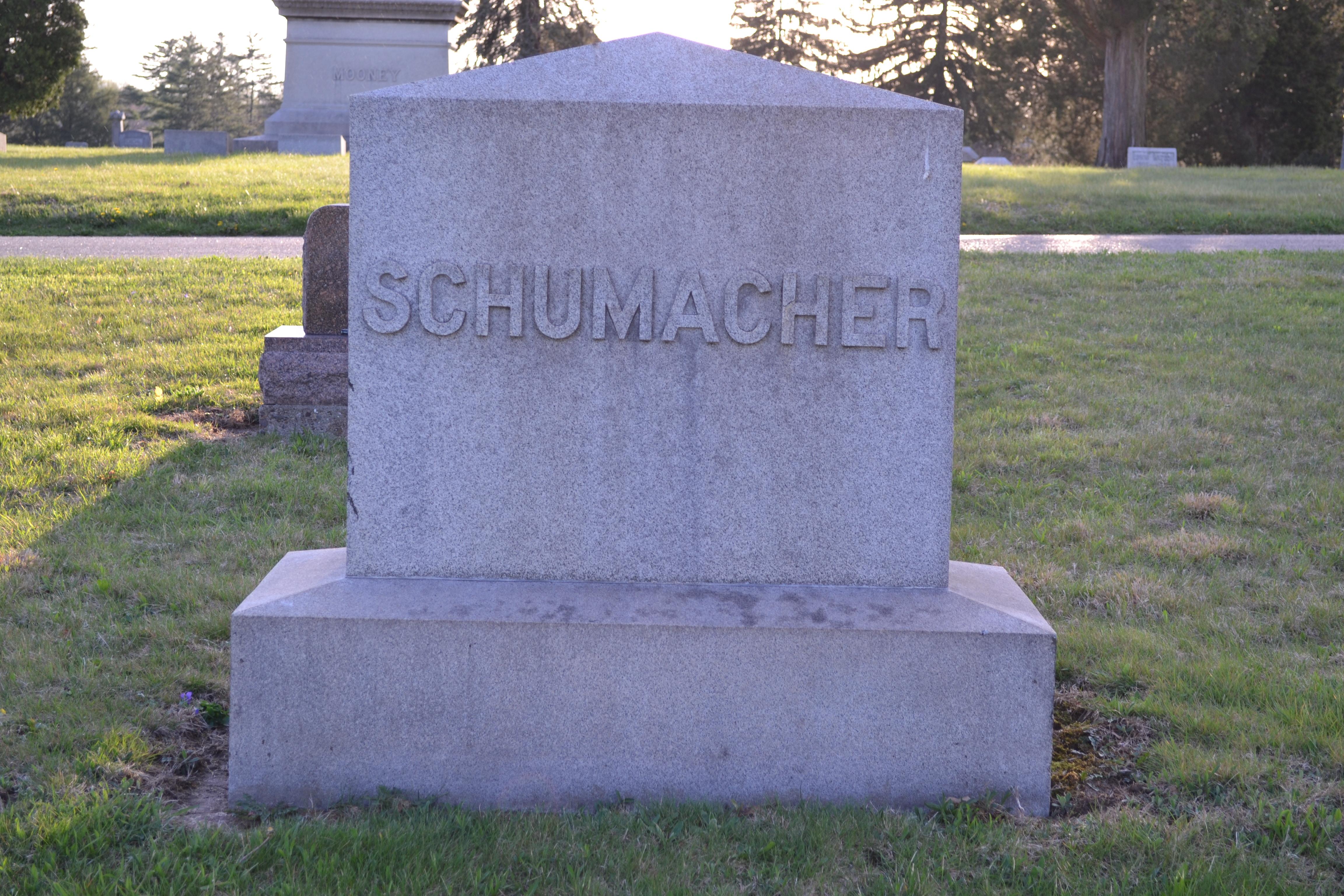 Anna Mary <i>Lang</i> Schumacher