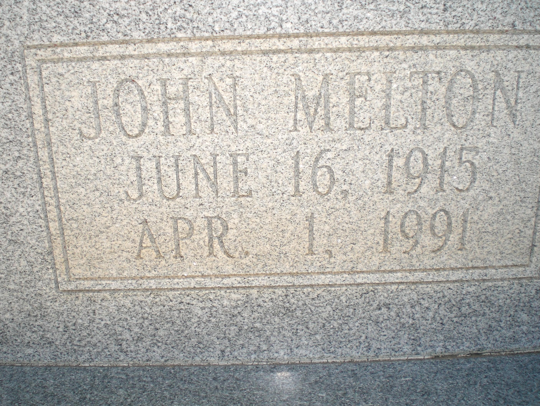 John Melton Melton Allred