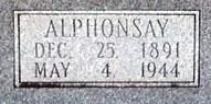 Alphonzay F. Tonza Connell