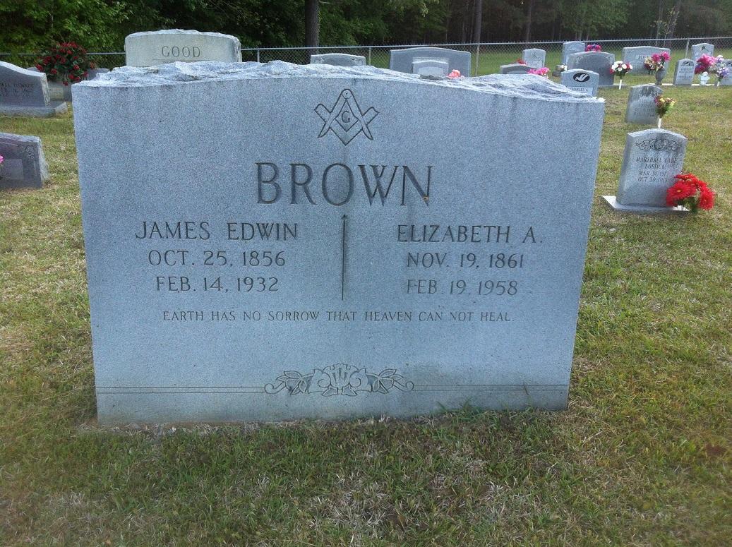 Elizabeth A <i>Bruce</i> Brown