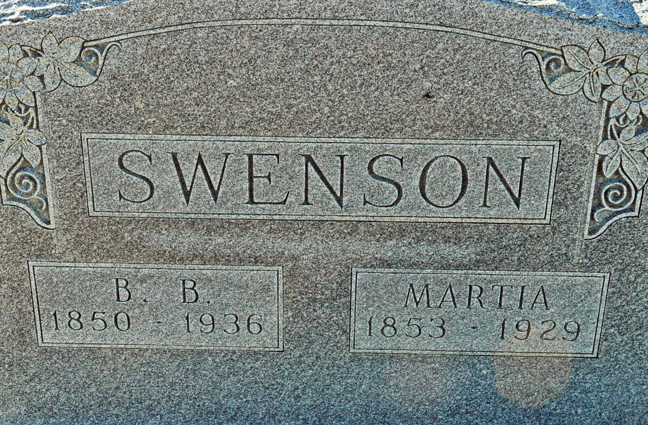 Bernt B Swenson