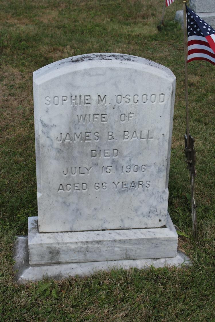 Sophia M <i>Osgood</i> Ball