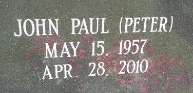 John Paul Peter Jackson