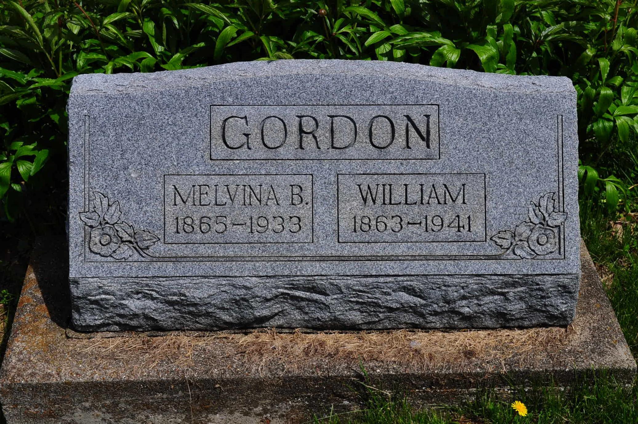 Melvina Belle Vina <i>Coots</i> Gordon