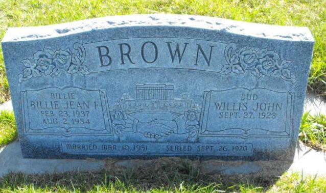 Billy Jean <i>Findley</i> Brown