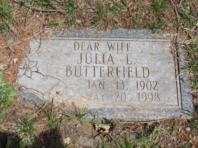 Julia Grace <i>Lussier</i> Butterfield