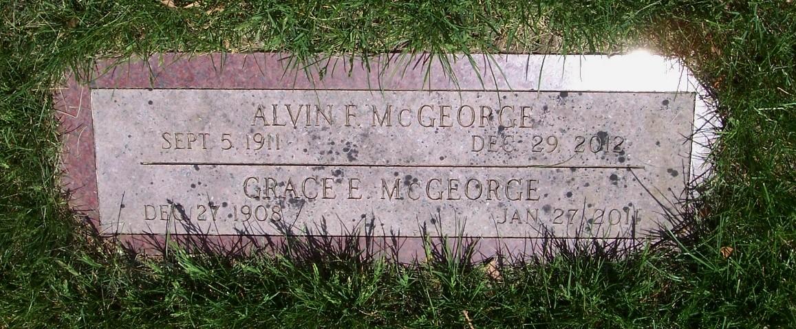Grace <i>Petersen</i> McGeorge
