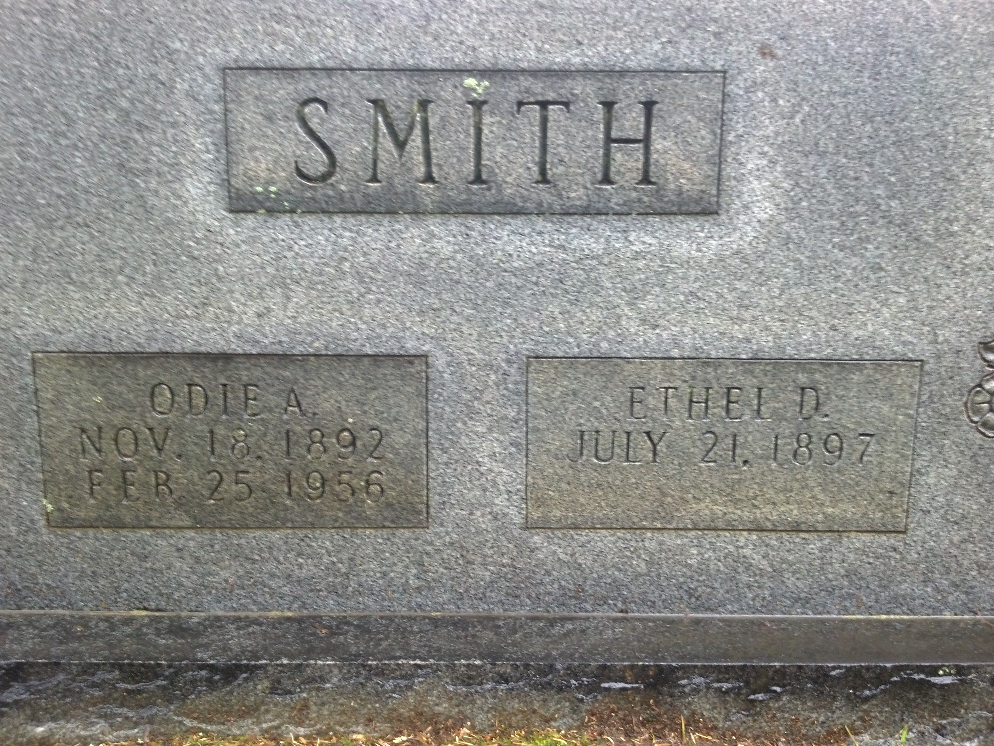 Ethel <i>Drane</i> Smith