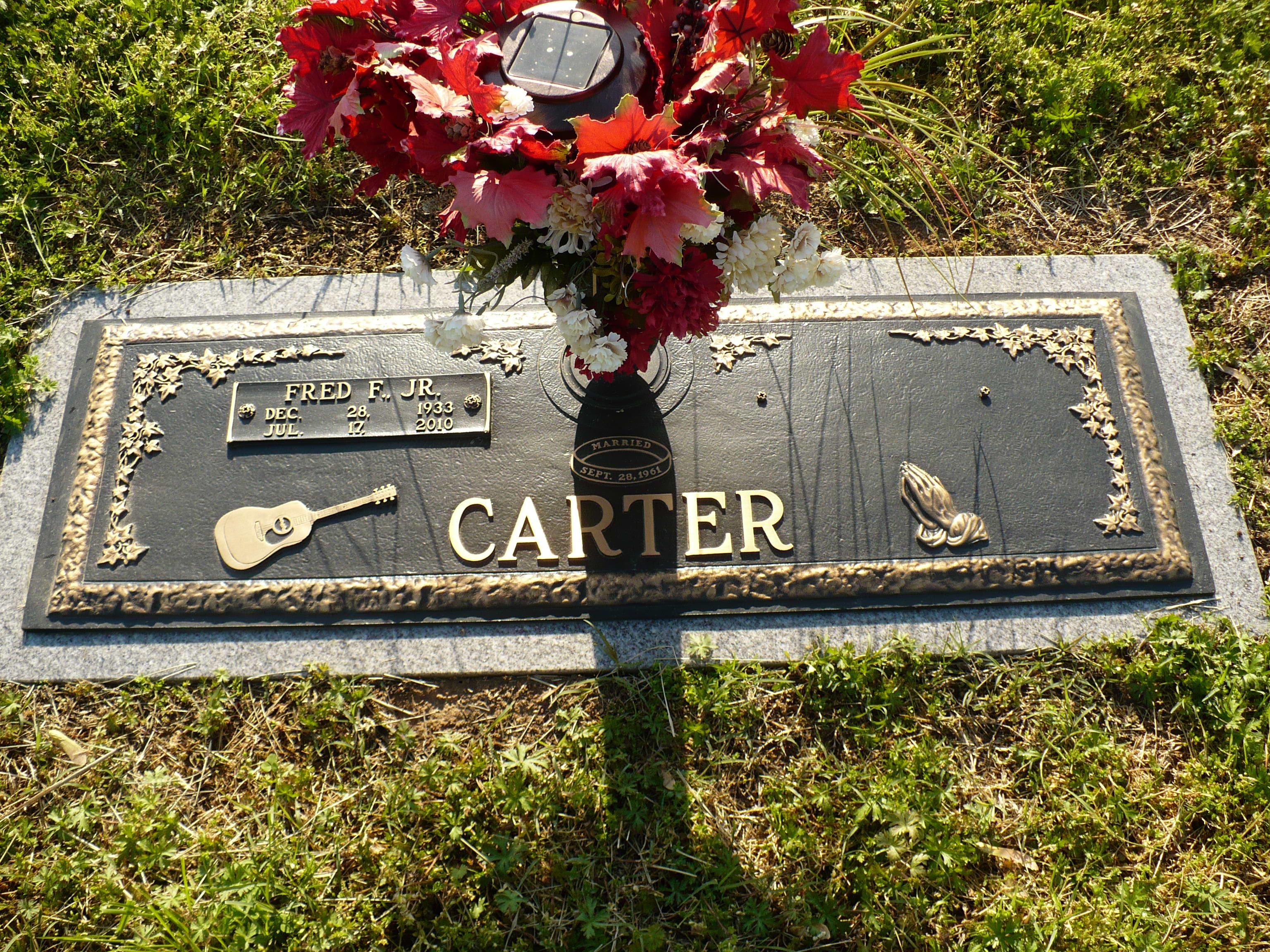 Fred Carter Jr 1933 2010 Find A Grave Memorial