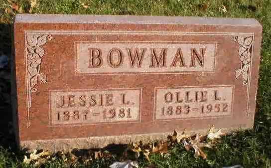 Ollie Lee Bowman