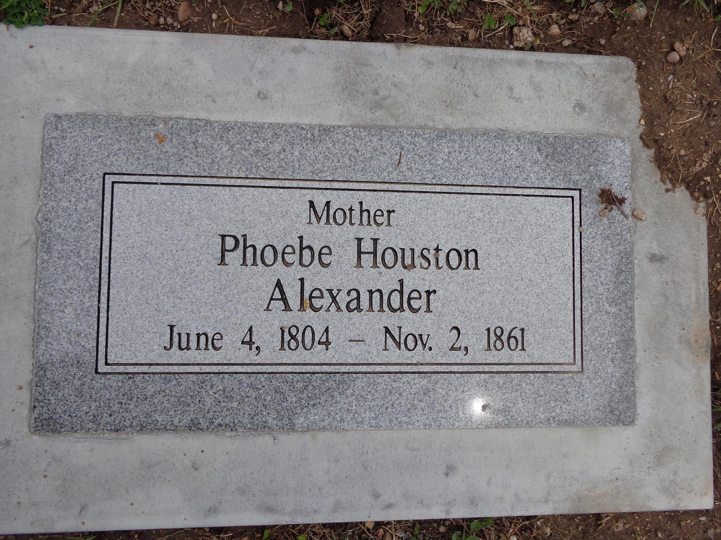 Phoebe <i>Houston</i> Alexander