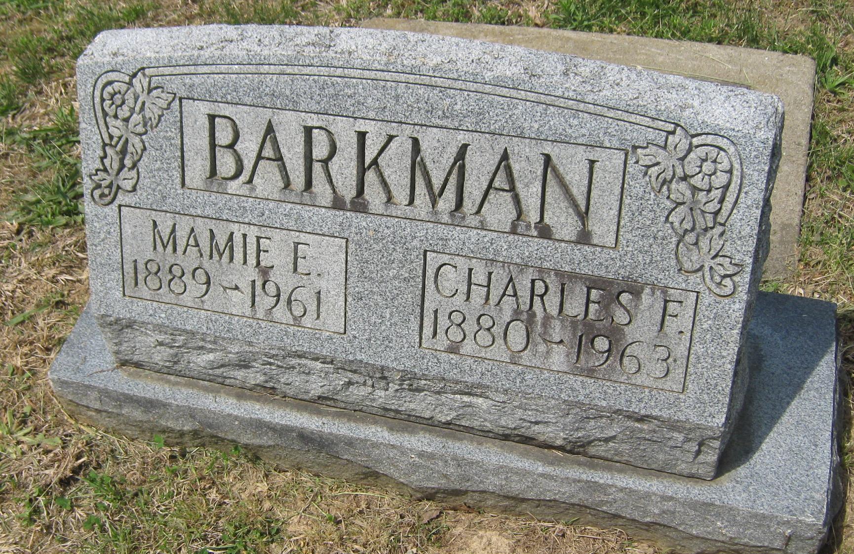 Mamie E. Barkman