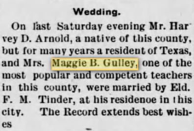 Margaret King Maggie <i>Brown</i> Arnold