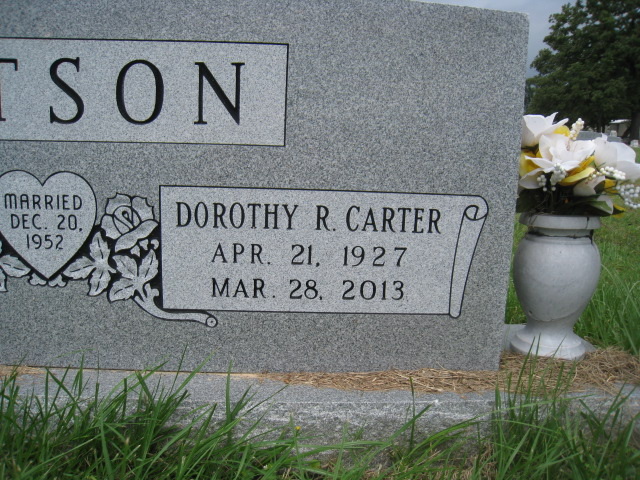Dorothy Raye <i>Carter</i> Batson