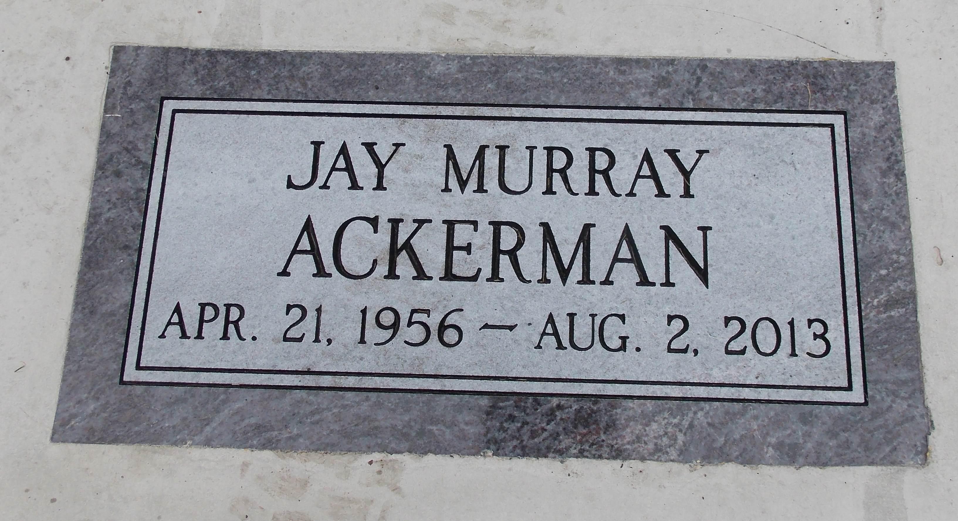 Jay Murray Ackerman