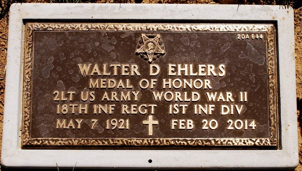 2LT Walter David Walt Ehlers