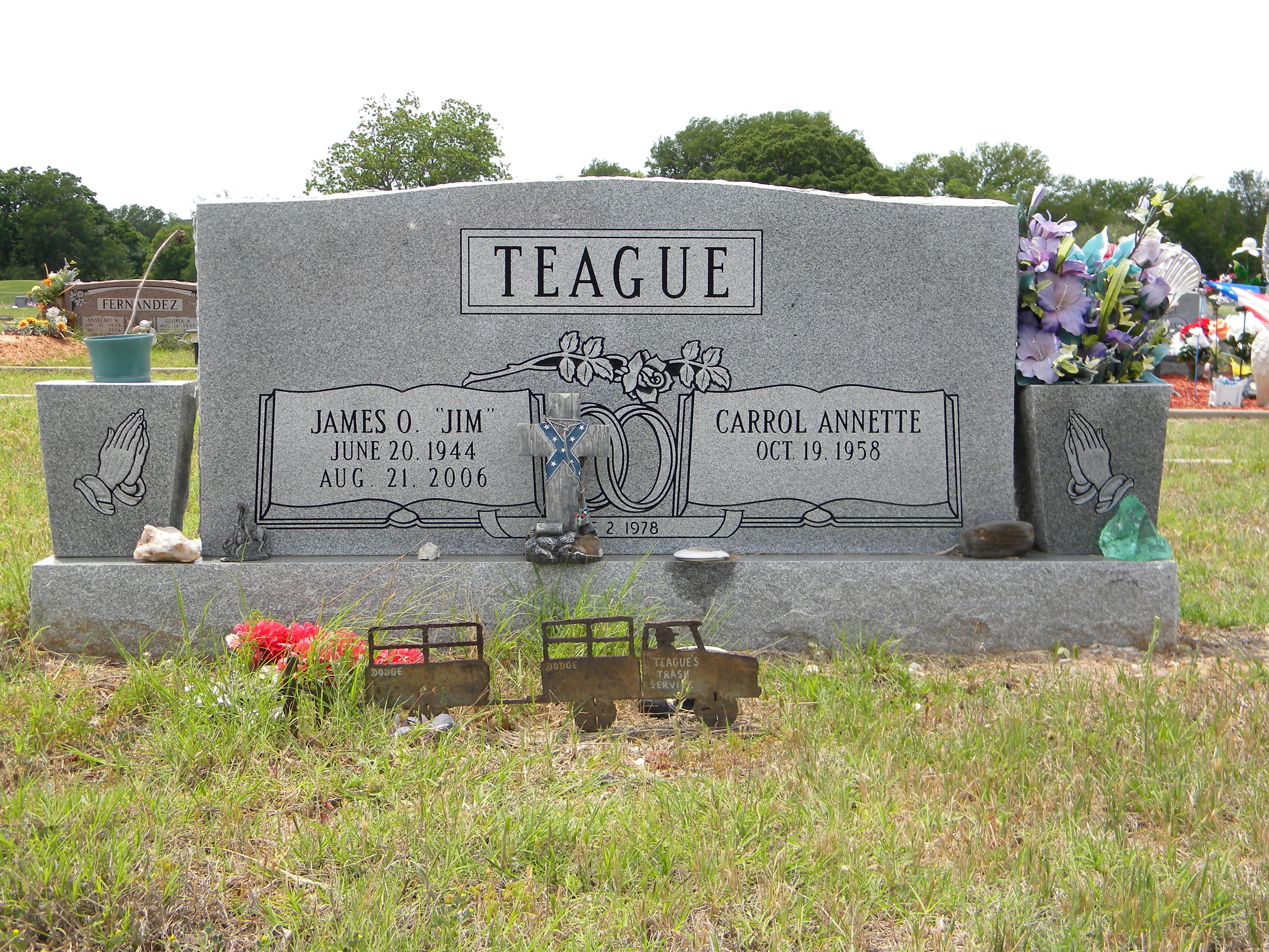 James Oliver Jim Teague