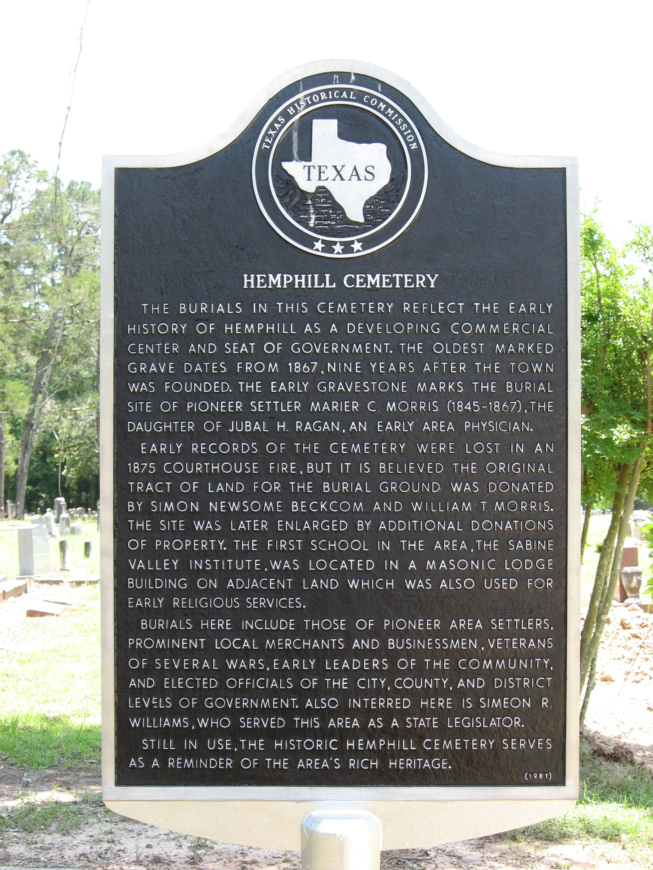 Hemphill Cemetery