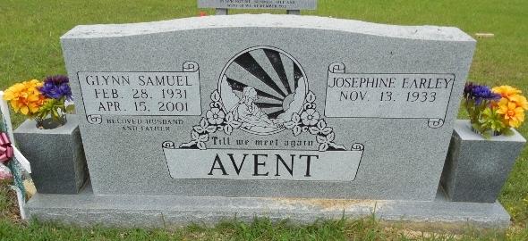 Josephine <i>Earley</i> Avent