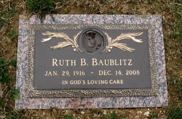 Ruth B. <i>Kendig</i> Baublitz