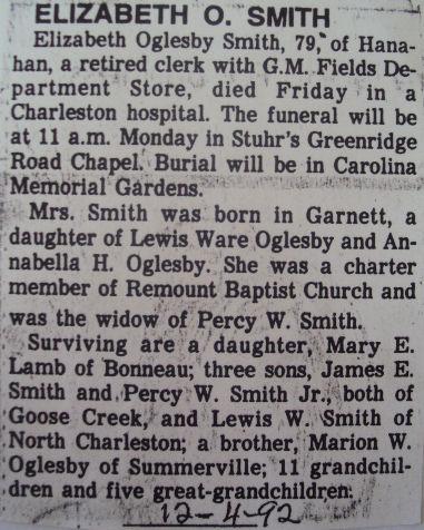 Elizabeth <i>Oglesby</i> Smith