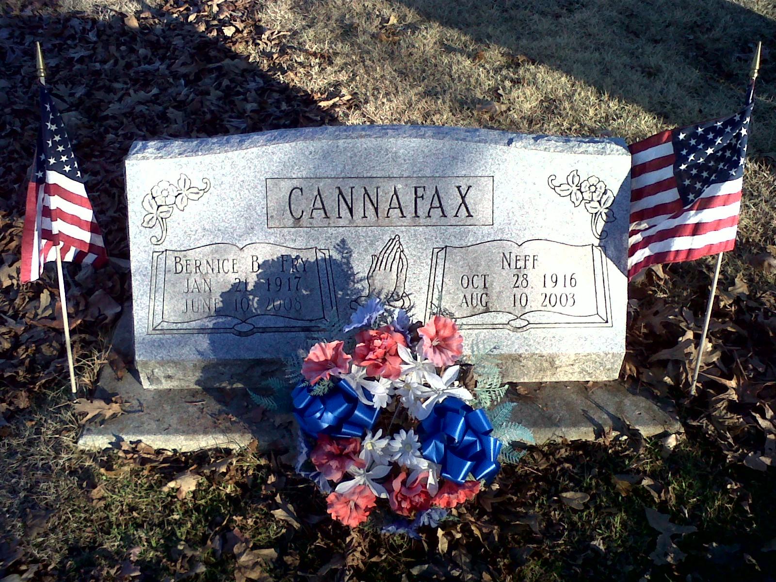 Bernice B. <i>Fry</i> Cannafax