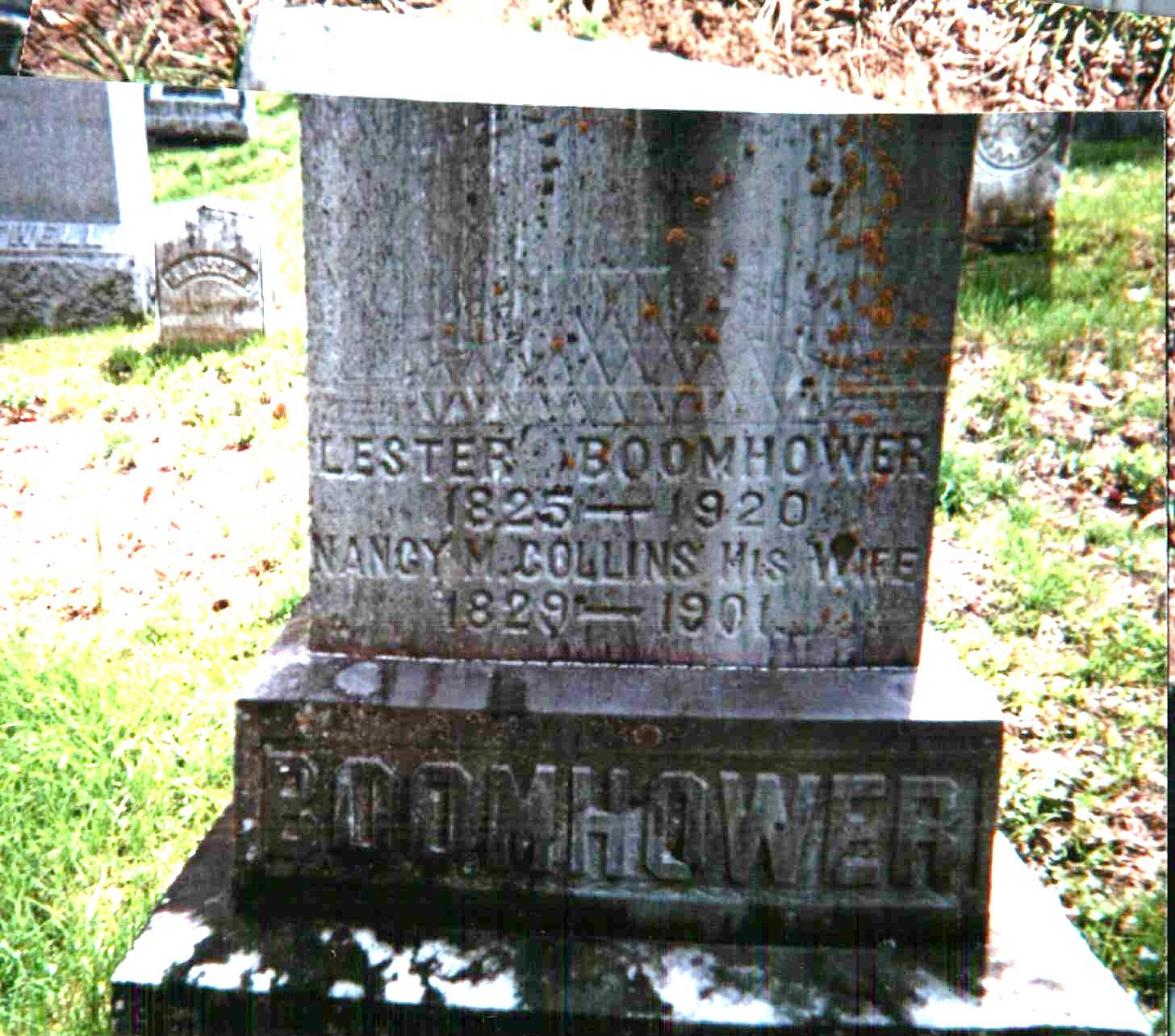 Nancy Miranda <i>Collins</i> Boomhower