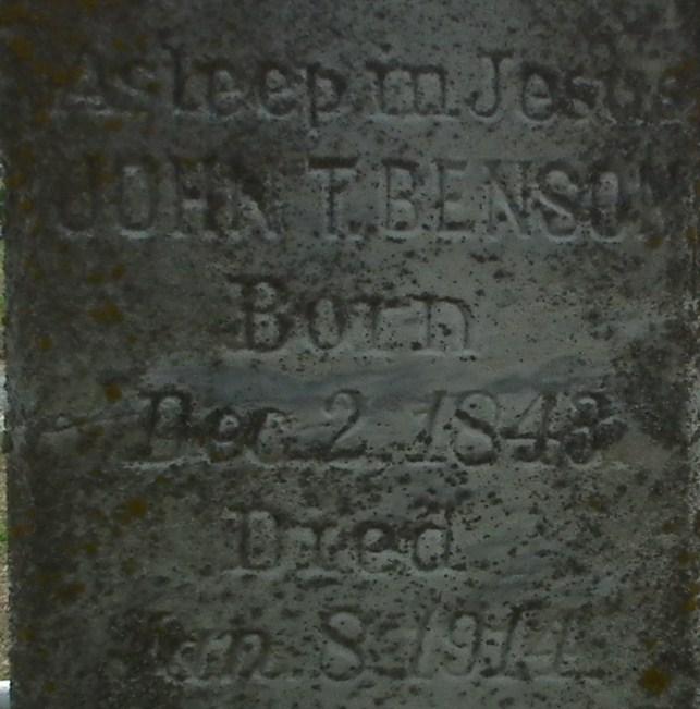 John Thomas Benson