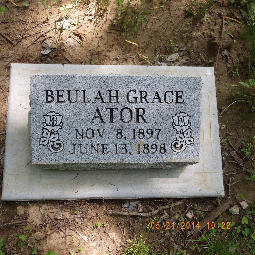 Beulah Grace Ator