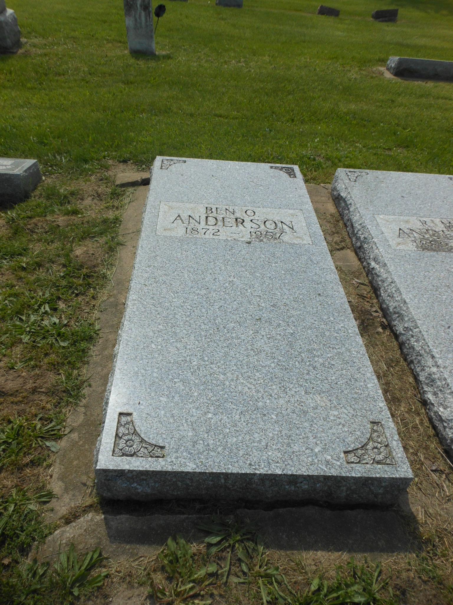 Benjamin O. Ben Anderson