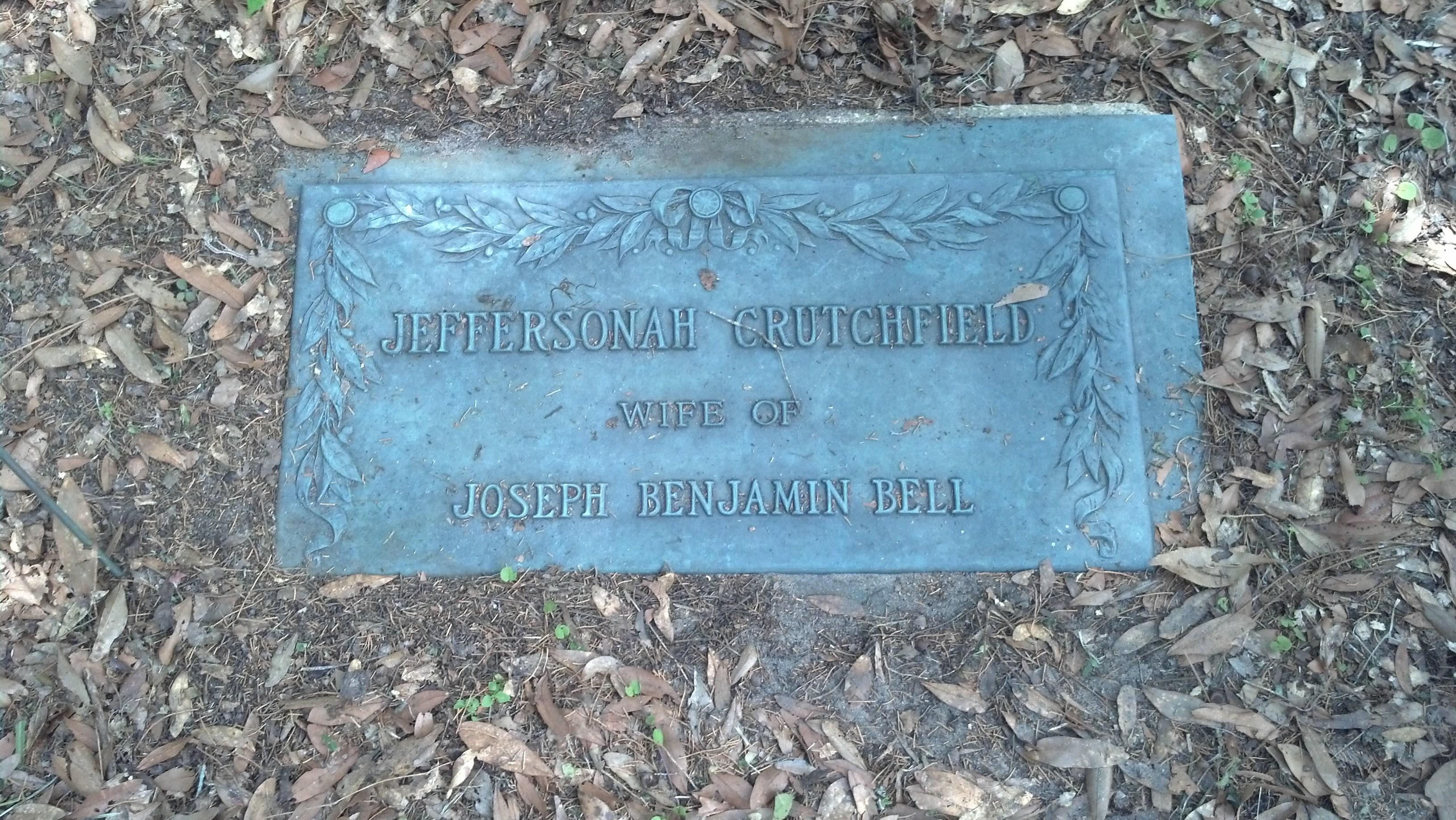 Jeffersonah <i>Crutchfield</i> Bell
