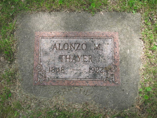 Alonzo M. Thayer