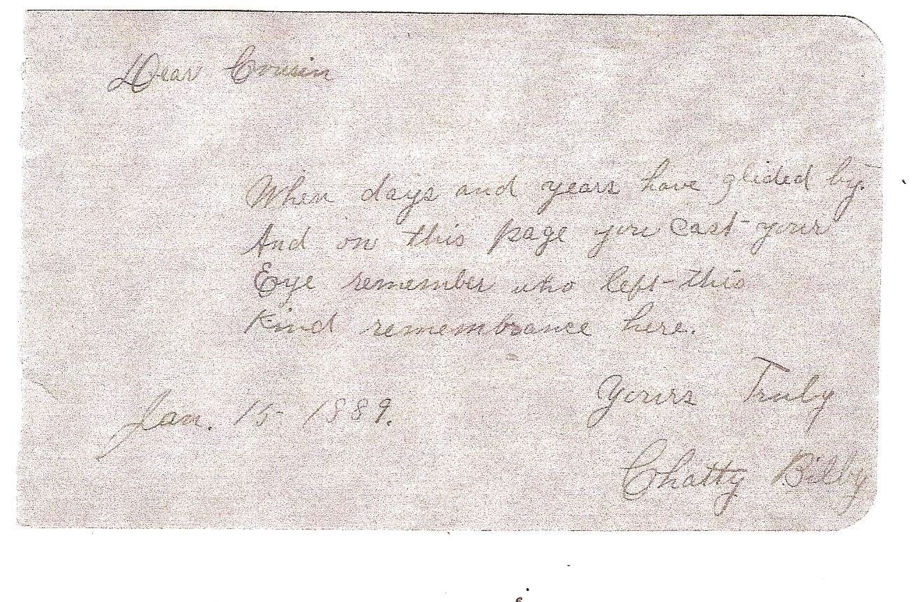 Charity Helen Chatty <i>Bilby</i> Allen