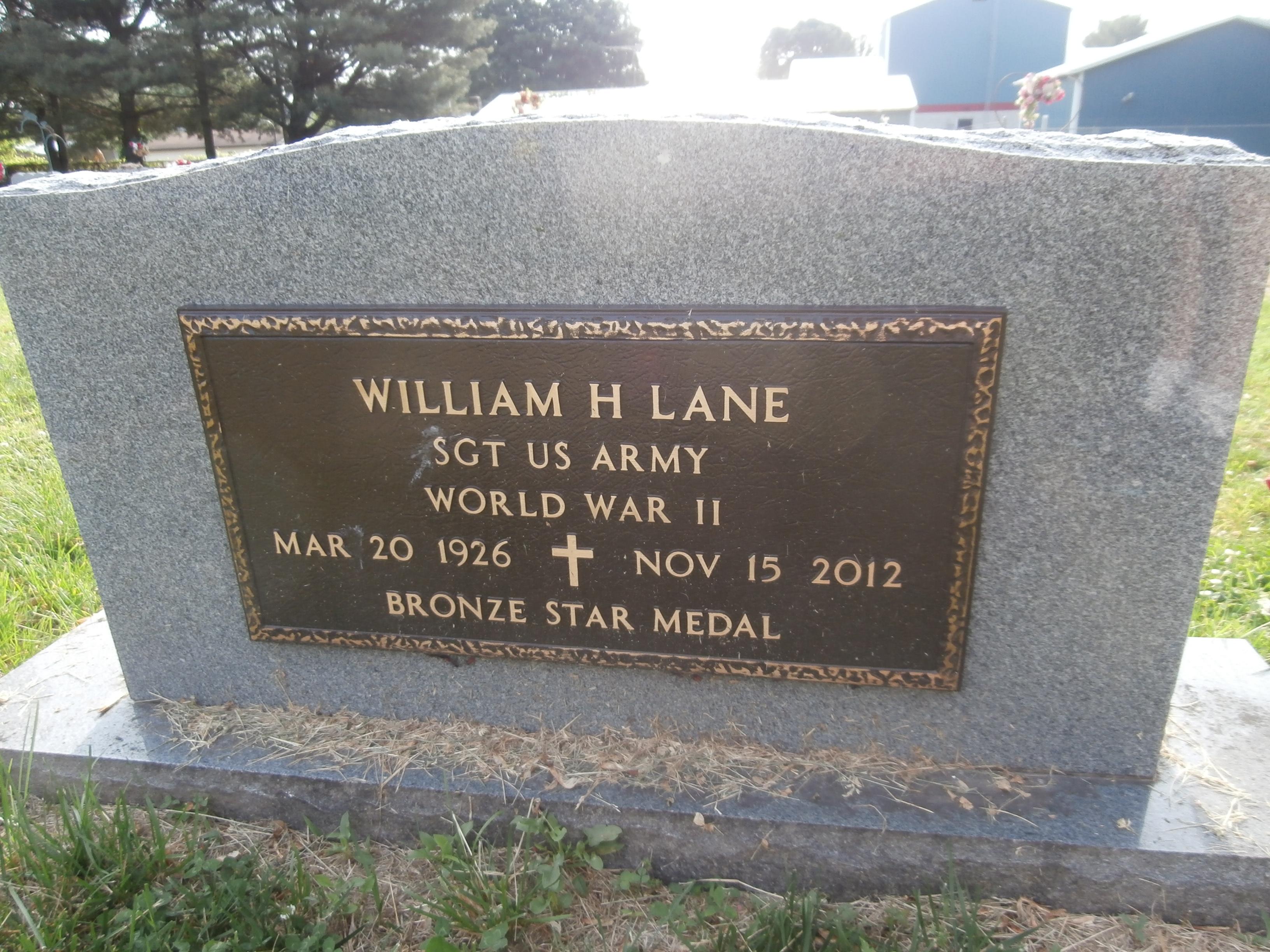 William H. Bill Lane