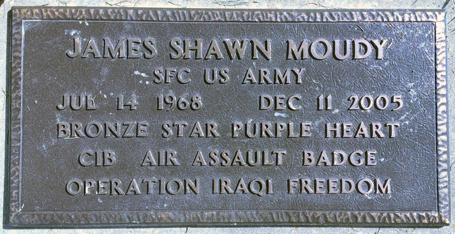 Sgt James Shawn Moudy