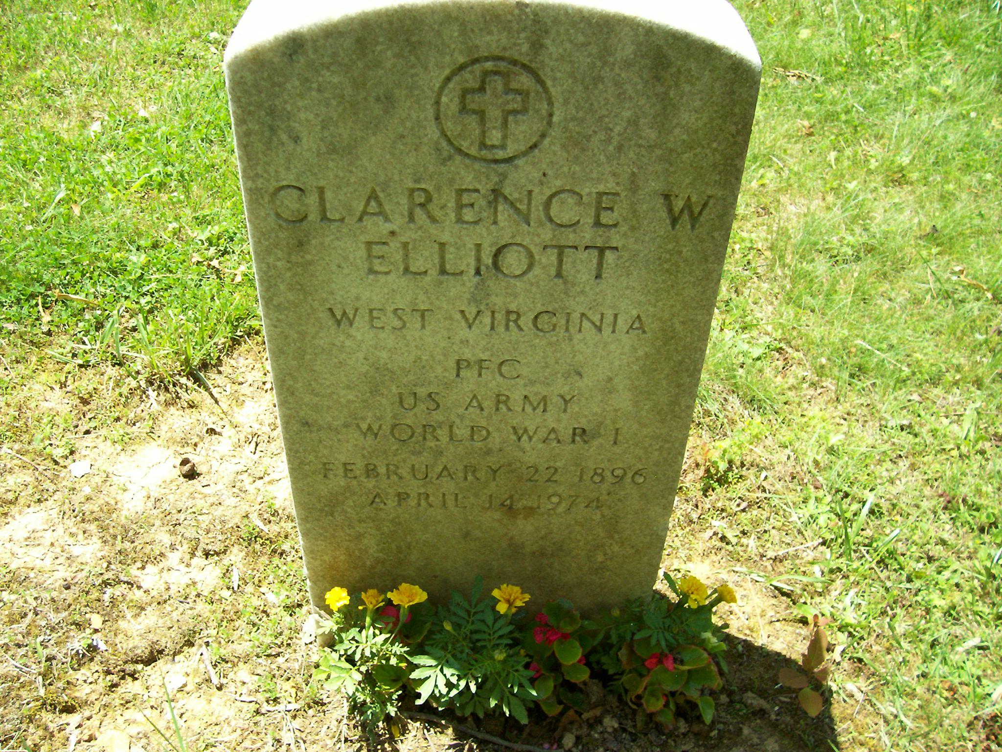 Clarence W Elliott