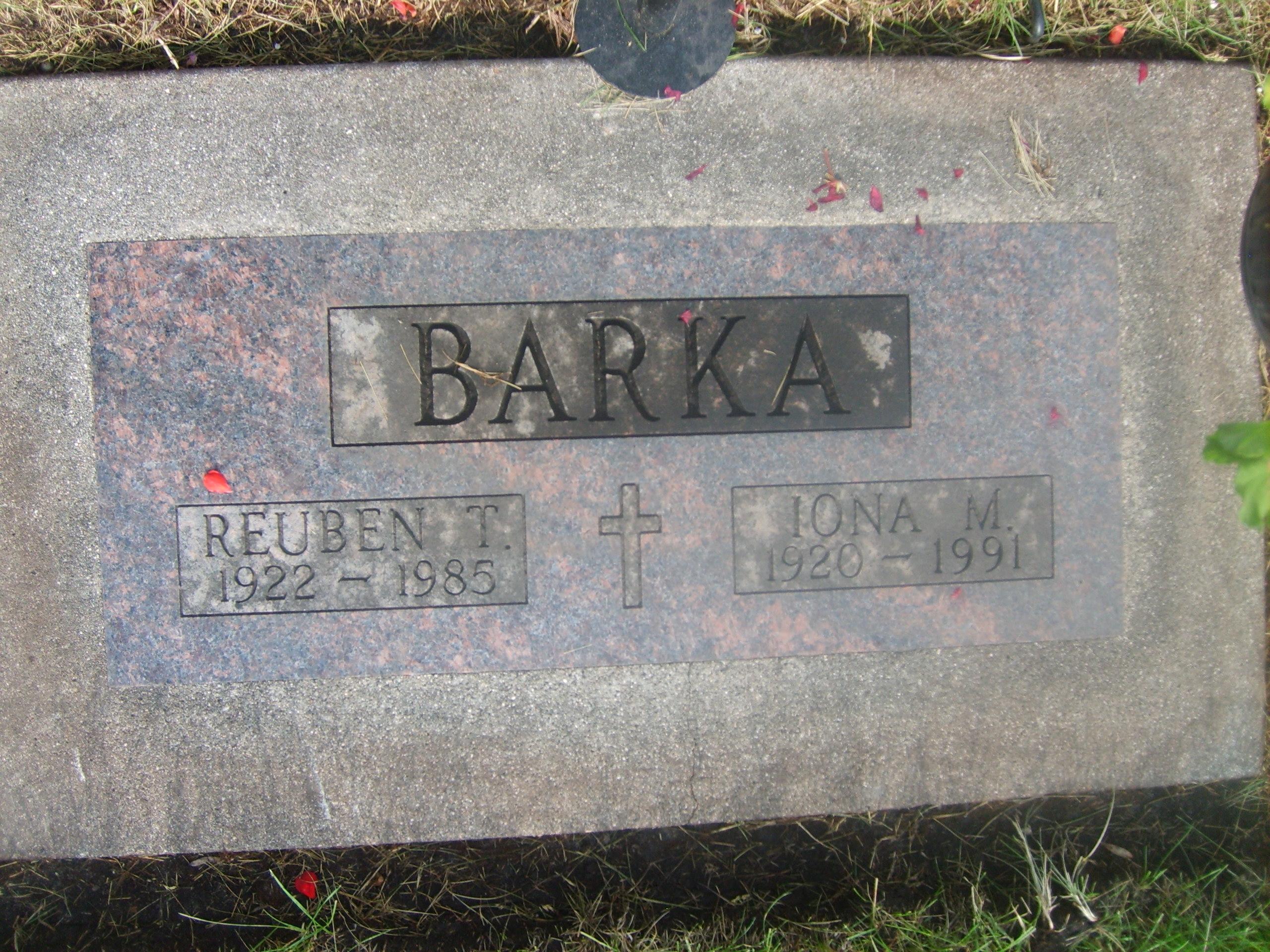 Reuben Thor Barka